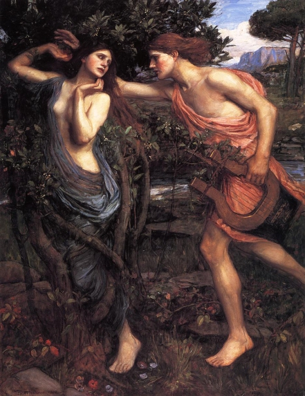 Apollo and Daphne John Waterhouse