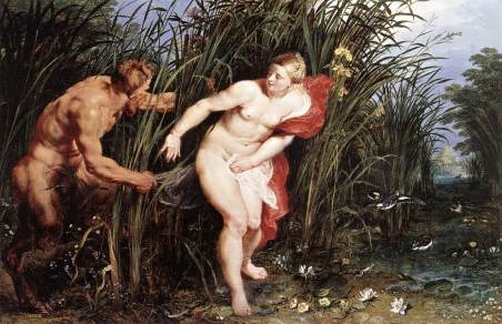 pan and syrinx rubens